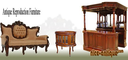 Antique Reproduction Furniture Indonesia Exporter